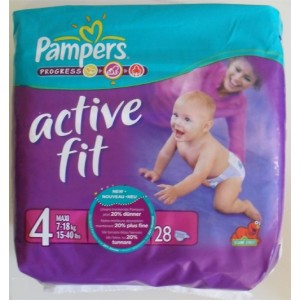 PAMPERS active fit 7 à 18kg