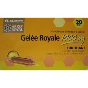 Gelée Royale 1000 mg  ampoule buvable lot de 2