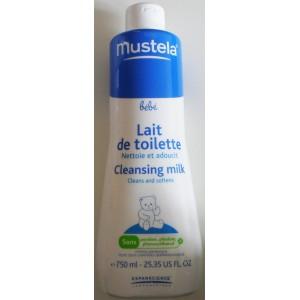 mustela b 233 b 233 lait de toilette 750ml pharmacie clic