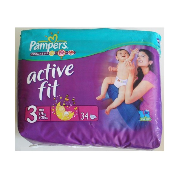 pampers active fit 4