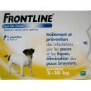 Frontline spot on chien  2 -10 kg