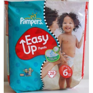 PAMPERS easy up pants, 16 kg et plus